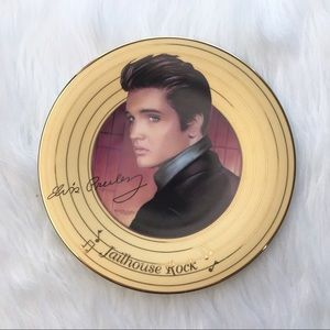 Elvis Presley jailhouse rock collectors plate 1996